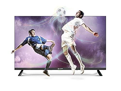 Grunkel - LED-32T2ULTRASLIM - Televisor de 81 centímetros de Pantalla, Panel HD Ready, TDT Alta definición, función Grabador USB-PVR y Auto-Apagado - 32 Pulgadas – Negro
