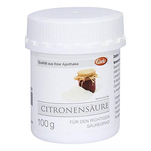 CITRONENSÄURE für Lebensmittel CAELO 100 g
