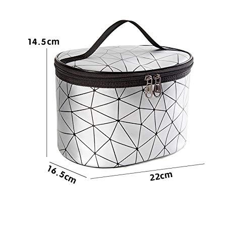 Waterdichte opbergdoos, Cosmetische tas, Draagbare reistas met kleine capaciteit, waszak, cilindrische tas