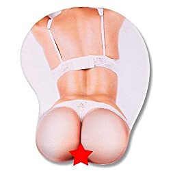 top rated Gel Wrist Support Mouse Pad – 3D Sexy Mouse Pad, Nude Girl Mouse Pad with Bat Pad 2021