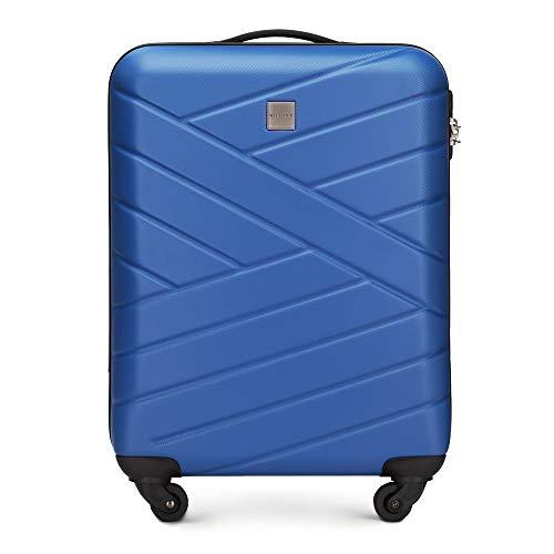 WITTCHEN Groove Line III Koffer, 55 cm, Navy Blau