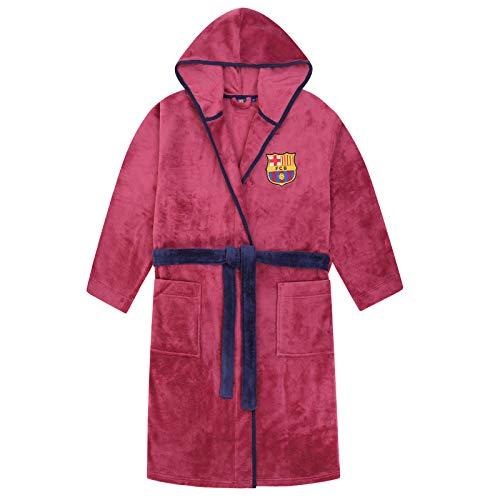 FCB FC Barcelona - Batín con Forro Polar y Capucha para Hombre - Producto Oficial