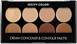 contour concealer and contour palette from city color