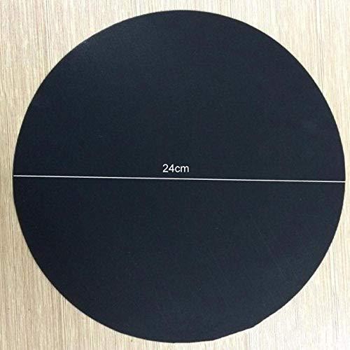 EDCV Home Keuken Non-Stick Pan Accessoires 2 stuks Kookgerei Onderdelen Koekenpan Liner Hoge temperatuur Koekenpan Pad, 2 stuks