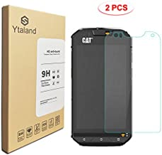 [2 Pack] Cat S60 Screen Protector, Tempered Glass Anti-Fingerprints Thin 9H Screen Hardness Screen Protector Film for Cat S60