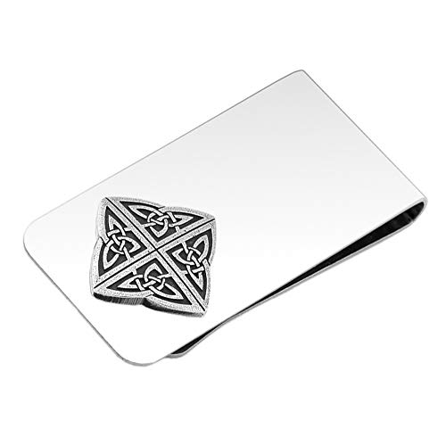 DANFORTH - Celtic Knot Money Clip - 2 Inches - Gift Boxed