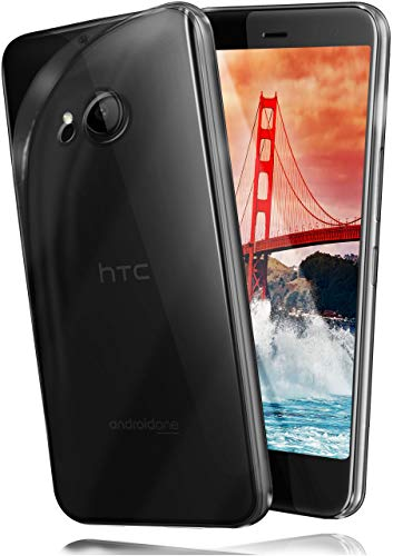 moex Aero Hülle kompatibel mit HTC U11 Life - Hülle aus Silikon, komplett transparent, Klarsicht Handy Schutzhülle Ultra dünn, Handyhülle durchsichtig einfarbig, Klar
