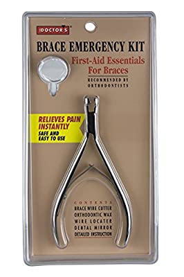 The Doctor's Brace Emergency Kit, First Aid Essentials for Braces