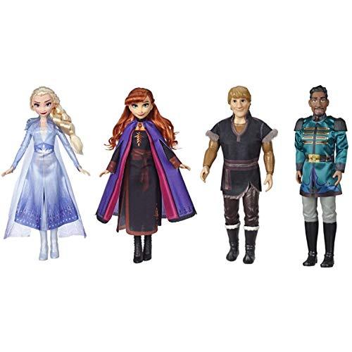 Hasbro Frozen2 Fashion Doll Base AST. Personaggi E Playset Femminili, Multicolore, 5010993608386