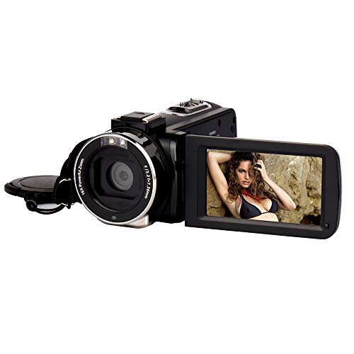WMKEDB Upgraded, Zoom de la cámara digital completa de HD 1080P 16x...