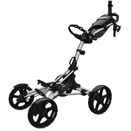Clicgear Model 8+ | 4-Wheel Golf Push Cart (Silver)