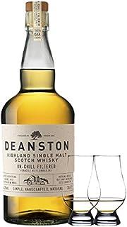 Deanston Virgian Oak Cask Single Malt Whisky 0,7 Liter  2 Glencairn Gläser