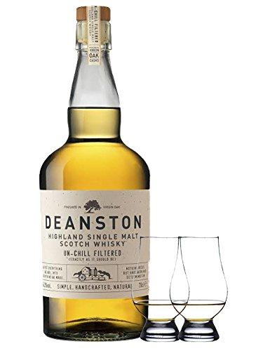 Deanston Virgian Oak Cask Single Malt Whisky 0,7 Liter + 2 Glencairn Gläser