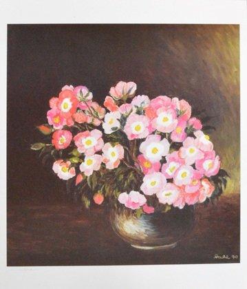 Germanposters Heide Dahl handsigniert Poster Kunstdruck Bild 48,7x42,5cm