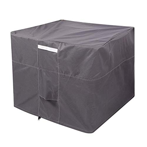 BANGSUN 1 funda para muebles de jardín y patio, tela Oxford, aire acondicionado, unidad al aire libre, color verde