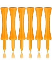 Zivisk Golf Step Down - Tees de plástico para Castillo 100 Unidades,31mm/37mm/43mm/51mm/57mm/70mm(Rojo, Azul, Blanco, Amarillo, Naranja, Rosa) 100 Contar