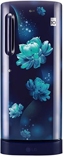 LG 235 L 4 Star Inverter Direct-Cool Single Door Refrigerator (GL-D241ABCY, Blue Charm)