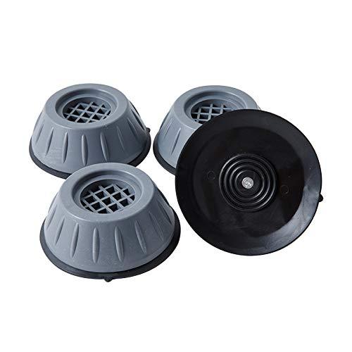 LQKYWNA 4PCS Waschmaschinenfüße, stoßfest, lautlos, feuchtigkeitsbeständig Mehrzweck-Gummifüße, geeignet zum Waschen von Waschmaschinen und Trocknern