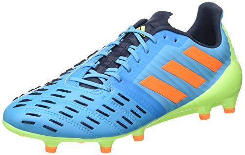 adidas Predator Malice Control (FG), Stivali da Rugby Unisex Adulto, Ciano, Arancione, Verde (Ciasen Narsen Versen), 42 EU