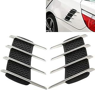 KiMiLIKE 2 Pz ABS Auto sotto Il Sedile della sede Air Vent Copertura per Tiguan Auto della Parte Posteriore dellautomobile del condizionatore dAria Uscita griglia di Copertura