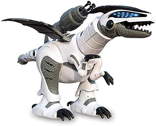 JTWJ Stimme mechanische Dinosaurier Fernbedienung intelligente elektrische Dinosaurier Spielzeug Roboter Modell Tyrannosaurus Rex Sensor Sensor Tier Spielzeug (Farbe   Weiß)