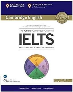 دليل كامبريدج الرسمي لطلاب الايلتس كتاب الطالب مع الحلول مع قرص دي في دي-روم