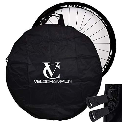 VeloChampion Easy Transport 700c Road Wheel 26 Mountain Bike Wheel Lightweight Easy to Carry