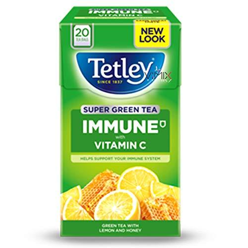 TETLEY Different Tea Bags Original (Immune Honey Lemon)
