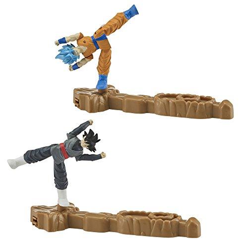 Dragon Ball Super - Pack de 2 combate (Goku SS Blue & Goku Black)