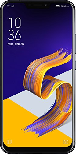 Asus Zenfone 5Z Smartphone débloqué 4G (Ecran : 6,18 pouces - 64 Go - Double Nano-SIM - Android) Noir