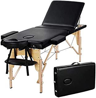 4beauty basic facial chair with free stool,facial bed,massage table(black)