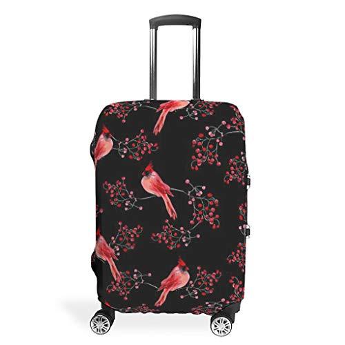 RNGIAN - Funda para Maleta de Viaje, diseño de Sparrow, Color Rojo