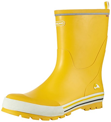 viking Unisex-Kinder Jolly Gummistiefel, Yellow, 38 EU