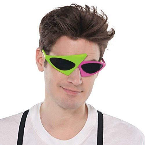2-Color Asymmetric Glasses (843024)