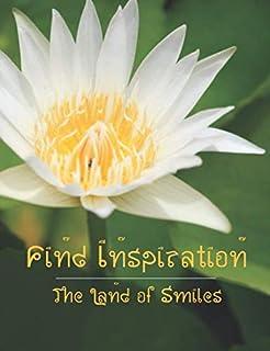 Land of Smiles Dot Grid 150 Page Journal: White Lotus