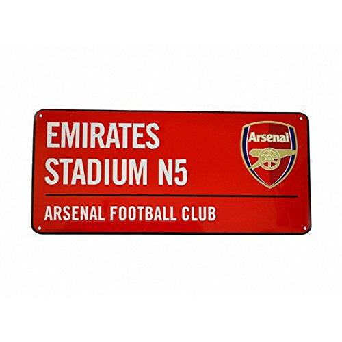 Arsenal F.C. Colour Arsenal Straßenschild – Mehrfarbig, Einheitsgröße