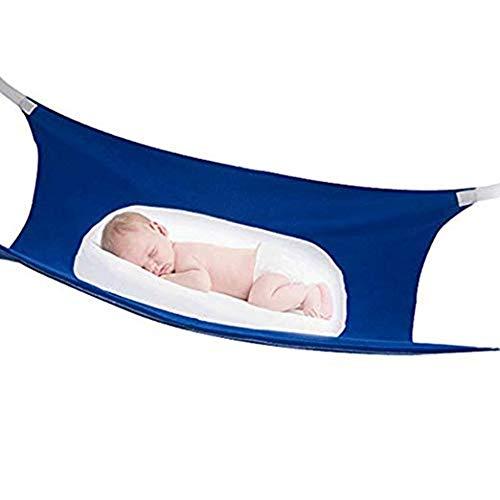 LXFA Baby Hängematte für Babybett Hängematte Kinder Indoor, Simuliertes Uterus-Design, Hochwertiger Korallensamt Mesh-Gewebe, Atmungsaktiver Komfort Helfen Dem Baby, Besser zu Schlafen