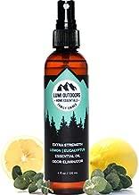 Natural Shoe Deodorizer Spray & Foot Odor Eliminator by Lumi Outdoors - Extra Strength - Eucalyptus Lemongrass