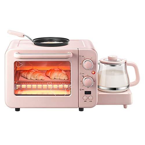 3-IN-1 NOSTALGIA COMPACTO Tamaño de la familia Retro Estación de desayuno eléctrica, Cafetería, Griddle, Horno de tostadora