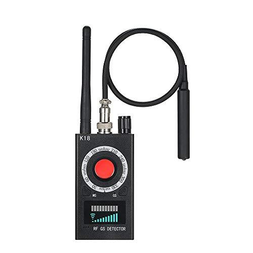 Multifunktionsdetektor Kamera, GSM Audio Bug Finder GPS Signal Linse RF Tracker Erkennen Drahtlose Produkte Einfach zu Installierende Caremera, Upgrade Mini-Sportkamera für ältere Baby-Sportarten
