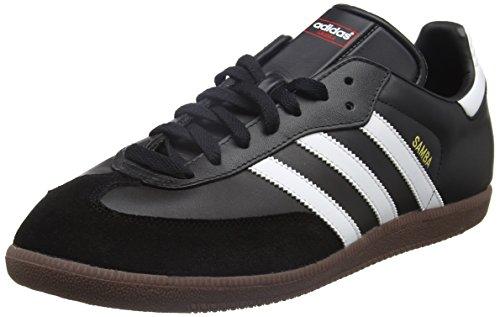 adidas Unisex-Erwachsene Fußballschuh Samba Low-Top Sneakers, Schwarz (Black/running White Footwear), 43 1/3 EU