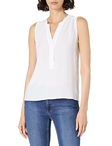 ESPRIT Damen 041EE1F322 Bluse, 100/WHITE, 36