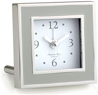 Addison Ross Chiffon & Silver Alarm Clock