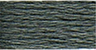 DMC 116 8-413 Pearl Cotton Thread Balls, Dark Pewter Grey, Size 8