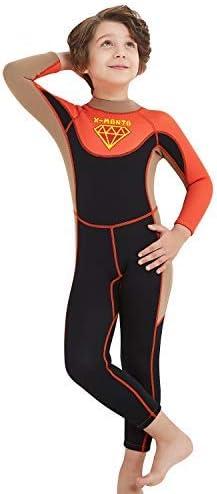 TENMET Kids Full Philadelphia Mall Wetsuit 2.5mm Large discharge sale Neoprene One Pie Bodysuit Thermal