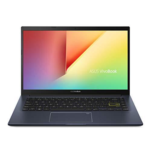 "ASUS VivoBook M413 14"" FHD LED-Backlit Thin and Light Laptop PC, AMD Ryzen 5 3500U, 8GB DDR4, 256GB SSD, HDMI, Webcam, Bluetooth, USB-C, Backlit KB, Fingerprint Sensor, Windows 10, ABYS Mouse Pad"