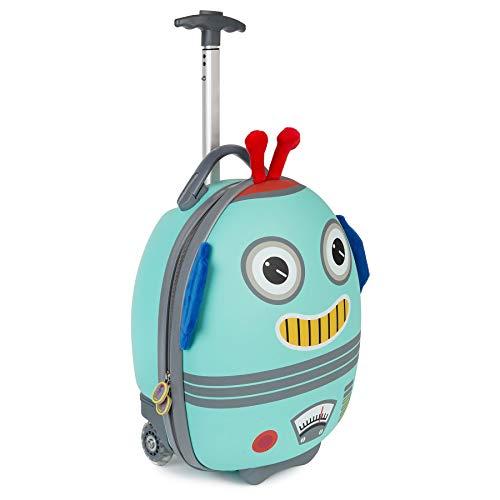 boppi Tiny Trekker Maleta Trolley Infantil Equipaje Cabina 2 Ruedas - 17 litros - Robot