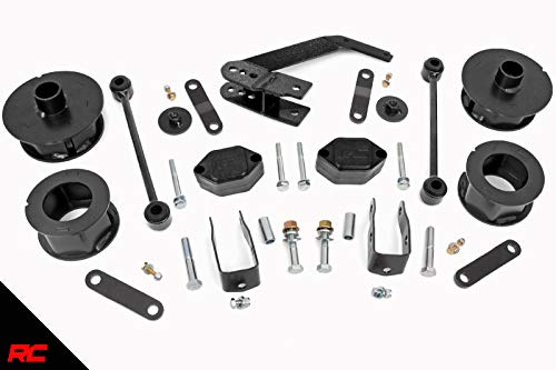 Rough Country 2.5' Suspension Lift Kit for 07-18 Jeep Wrangler and...