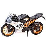 El Maquetas Coche Motocross Fantastico 1:18 for KTM RC 390, Colección De Vehículos De Fundición A Presión Estática, Modelo De Motocicleta De Hobby, Juguete Expresión De Amor