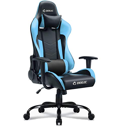 GOOGIC Gaming Chair Adjustment Recliner Swivel with Armrest Pad